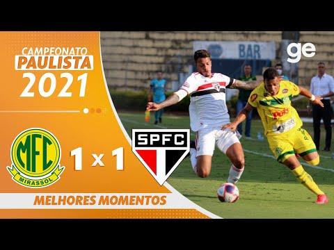 Vídeo / Mirassol 1 x 1 São Paulo - Paulistão 2021!