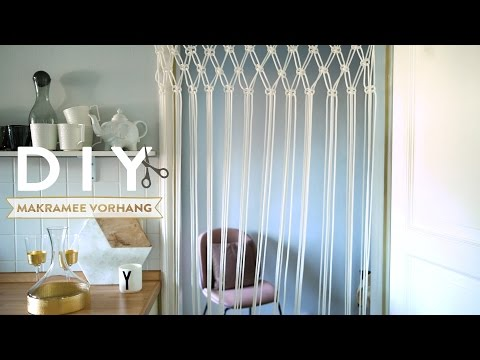 Makramee Vorhang | WESTWING DIY-Tipps