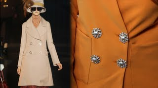 DIY Fashion, Add Vintage Buttons To A Blazer, Louis Vuitton-Inspired Tutorial