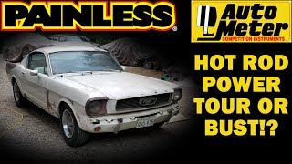 Forgotten 1965 Mustang First Start in 44 Years, Part 9 Painless Wiring and AutoMeter Gauges