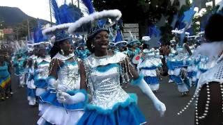 preview picture of video 'Kasika - Grande Parade du Mardi Gras de Basse-Terre, Guadeloupe 2012'