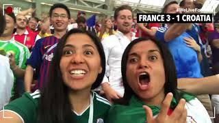 Fan Cam 2018 FIFA World Cup Episode 9: The Final