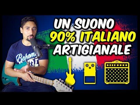 UN SUONO 90% MADE IN ITALY e ARTIGIANALE! Lezioni Effetti Amplificatori Chitarra