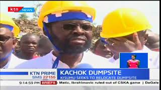 Kisumu county open a new chapter in the county's drive to move Kachok dumpsite from the city center