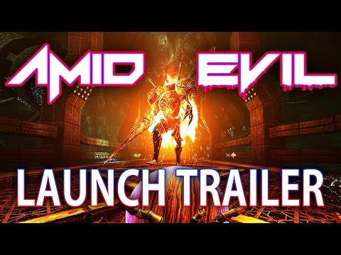 AMID EVIL - Launch Trailer thumbnail