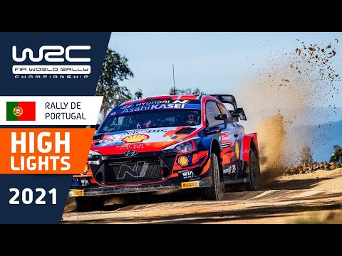 WRC 2021 第4戦ラリー・ポルトガル SS1-3ハイライト動画