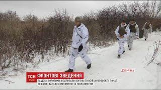 На фронті бойовики посилили обстріли по українських позиціях