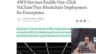 VeChain Launches One-Click Support From AWS.  Chainlink Onboards GamerHash. Swiss Exchange BTC ETP