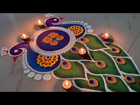 sanskar bharti peacock design for festivals by ks kitchen & lifestyle