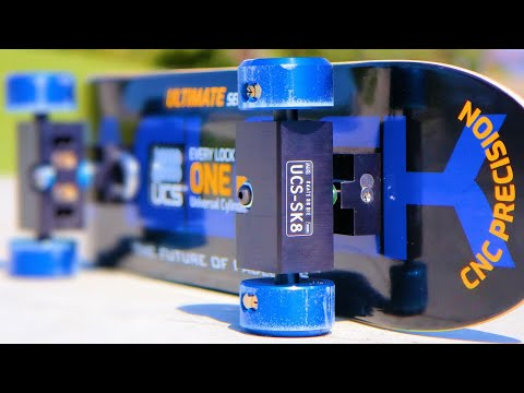 THE WORLD'S FIRST HIGH SECURITY SKATEBOARD?!? | YOU MAKE IT WE SKATE IT EP.  262