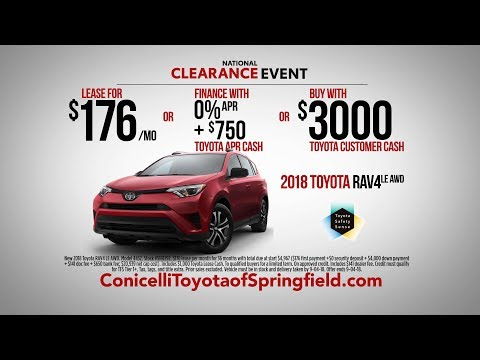 RAV4 AWD At Conicelli Toyota Of