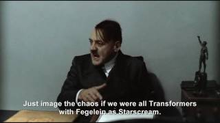 Hitler is informed he would make a good Megatron