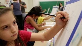 Rutgers Camp Helps Kids Focus
