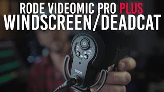 Rode Videomic Pro Plus Windshield/Deadcat/Windjammer (And Is the Rode Videomic Pro Worth It?!)