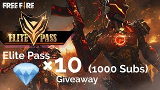 Garena Free Fire Live🔴 100 Diamonds Giveaway