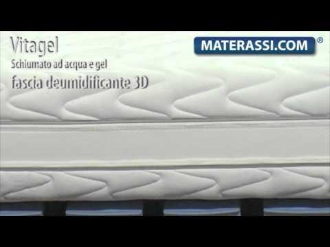 Materasso in Memory-Gel Mod. Vitagel 3D