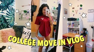 COLLEGE MOVE-IN VLOG | Florida State University