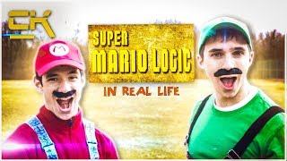 Mix - SUPER MARIO LOGIC IN REAL LIFE