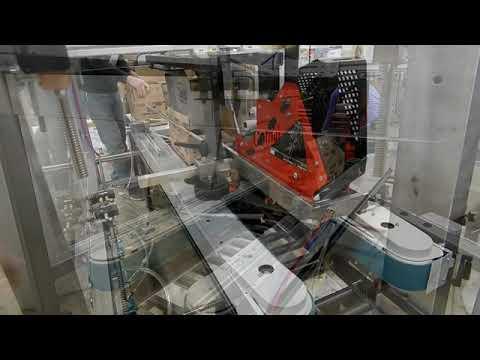 Selladora de cajas completamente neumática TBS-100FC XL