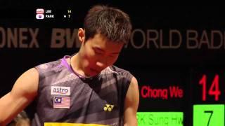R16 - MS - Lee C.W. vs. Park S.H. - Yonex BWF World Champs
