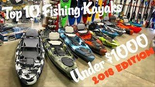 Top 10 Fishing Kayaks Under $1000 | 2018 Edition | Kholo.pk