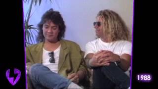 Van Halen: The Raw & Uncut Interview   1988