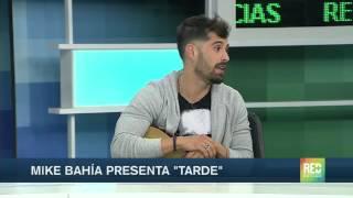 Mike Bahia presentó su nueva canción ¨Tarde¨