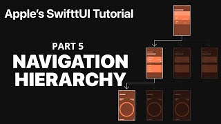 Creating a Navigation Hierarchy  - Following Apple's SwiftUI tutorial PART 5