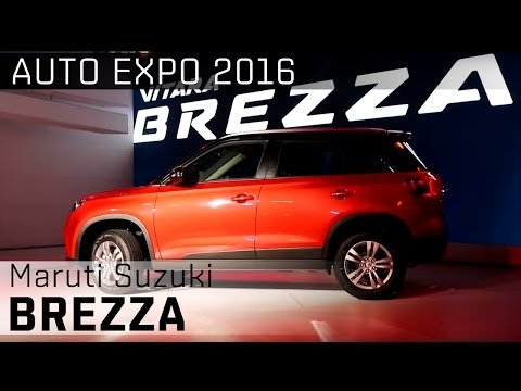 Maruti Suzuki Vitara Brezza :: 2016 Auto Expo  WalkAround Video :: ZigWheels