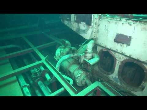 TUG-2 Wracktauchgang, Wrack der TUG-2,St. Julians,Malta