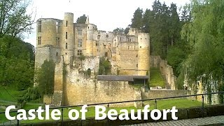 preview picture of video 'LUXEMBOURG: Beaufort Castle [HD]'