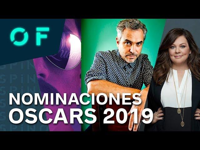 Nominaciones a los premios Óscar 2019