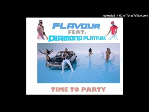 Flavour ft diamond Platnumz - TIME TO PARTY (official Music Audio)atune