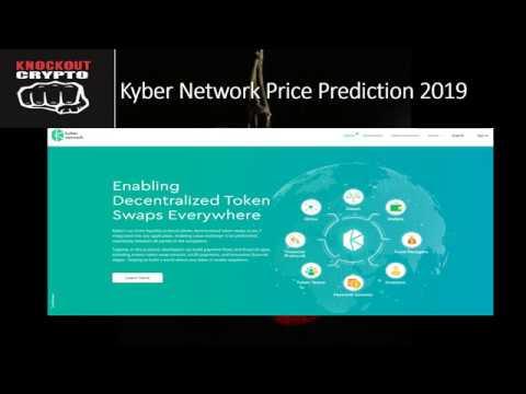 Kyber Network Price Prediction 2019