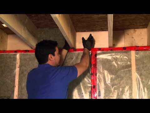 How to Insulate a Basement Header