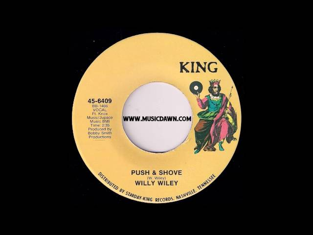 Willy Wiley - Push & Shove - King Records - 1973 Funk 45