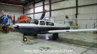 Mooney C-FYXM flight London, Ontario to Kingston - Dec 2016