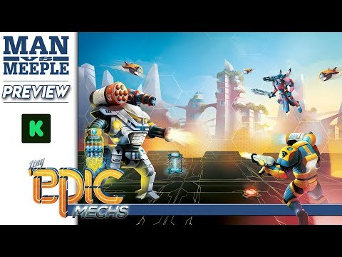 Tiny Epic Mechs Preview by Man Vs Meeple