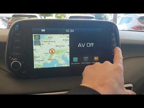 New Hyundai Tucson Multimedia and Navigation Systems 2019