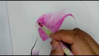 Dibujando con Azor | cómo dibujar un flamenco | aprende a dibujar