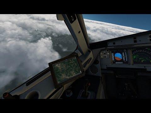 X-Plane 11 - FF A320, Sarajevo, xEnviro, Ortho4XP - смотреть
