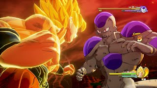Dragon Ball Z: Kakarot - Super Saiyan Goku Vs Final Form Frieza Boss Fight