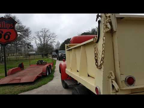 1947 Ford Dump Truck