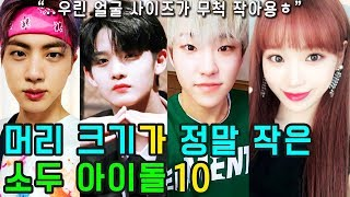 (ENG SUB) [K-POP NEWS] Who are the 10 KPOP IDOLs with small face sizes?