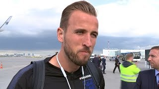 England arrive in Russia ahead of World Cup | ITV News