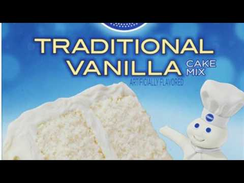 Video Pillsbury Vanilla Cake