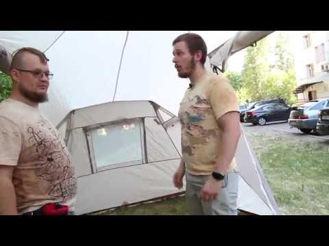 Палатка с автоматическим каркасом Greenell «Виржиния 6 квик». Видеообзор.