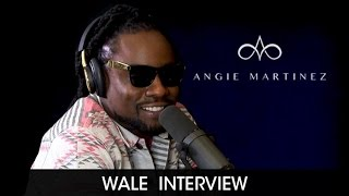 Wale in RARE form w/ Angie + Shares Philosophy on Kendrick, Cole &  Photos w/ Fake Fans
