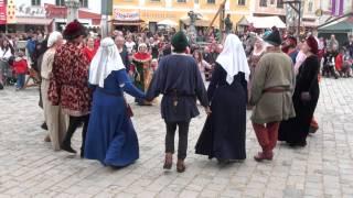 preview picture of video 'Tanzgruppe von Eulenspiel & Spielleute von Tanzebom in Eggenburg: Ductia'