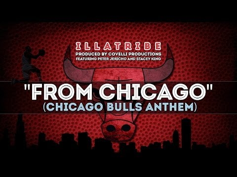 """From Chicago"" (Chicago Bulls 2013-2014 Anthem) by Illatribe - Derrick Rose and Jordan Highlights"